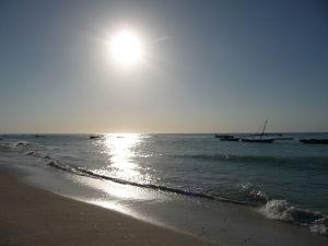 Zanzibarská pláž