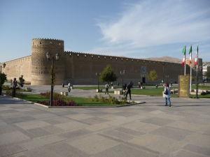 Hrad Arg Karim Chan - Podobá sa pevnosti v Alhambre