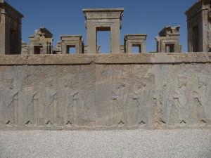 Reliéf na paláci Tačara