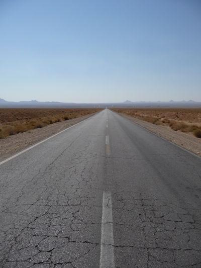 Cesta v púšti do Yazdu