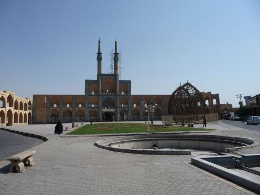 Komplex Amira Chakhmaqa na námestí Salman-e-Farsi v Yazde
