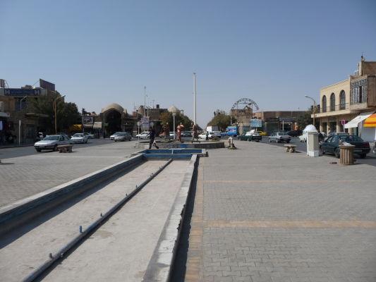 Námestie Salman-e-Farsi v Yazde