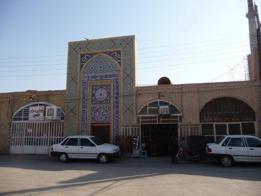Uličky starého Yazdu neďaleko Piatkovej mešity (Masjid-e Jame)