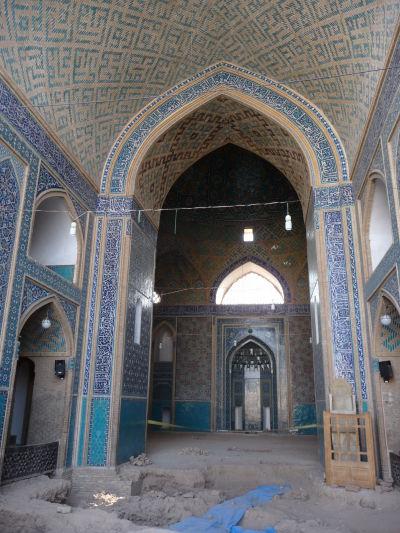 Piatková mešita (Masjid-e Jame) v Yazde