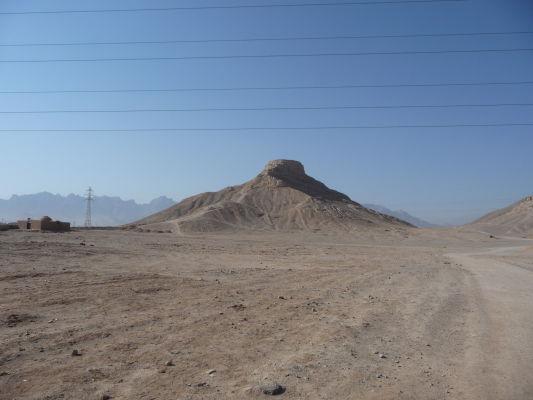 Veža mlčania neďaleko Yazdu