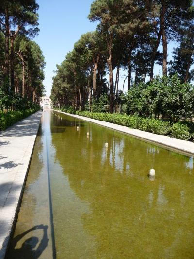 Záhrada Dolat Abad v Yazde
