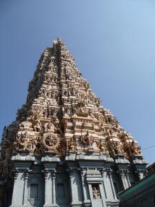 Hinduistický chrám Sri Muthumariamman Kovil