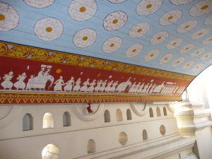 Dekorácie v Chráme Relikvie zubu