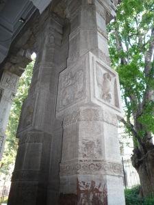 Vytesané stĺpy