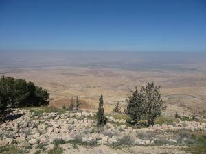 Výhľad z hory Nebo