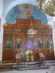 Chrám sv. Juraja v Madabe - hlavný oltár