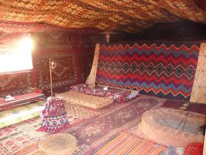Obývačka v tábore