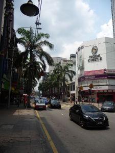 Štvrť Bukit Bintang s nákupnými centrami