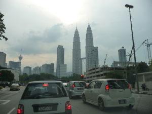 Príjazd k Petronas Towers