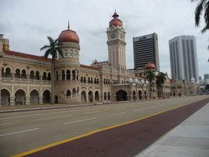 Námestie Merdeka - Budova Ministerstva informácií, komunikácií a kultúry