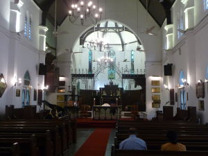 Anglikánska Katedrála Panny Márie - Nedeľná omša