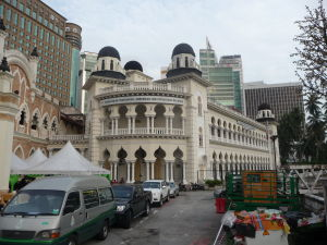 Námestie Merdeka - Príklady koloniálnej architektúry