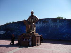 Socha učenca Ulugbeka