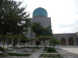 Medresa Tilya Kori - Vnútorné nádvorie