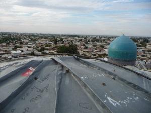 Výhľad na Samarkand