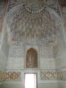 Dekorácie v Abdulazízovej medrese