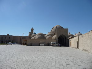 Typické kupoly bazáru (taqi) v Buchare - Taqi Sarrafon