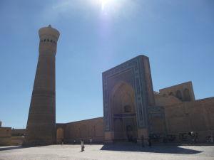 Kalyanský minaret a mešita (Džuma)