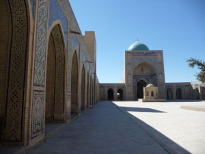 Nádvorie Kalyanskej mešity (Džumy)