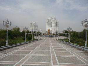 Jeden z nepreberného množstva monumentov a parkov