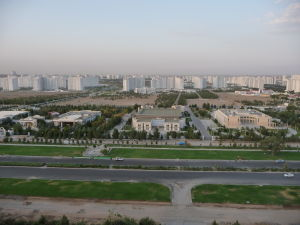 Pohľad na Biele mesto