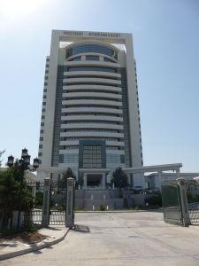 Hotel Prezident v Ašchabade