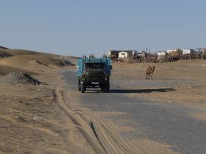 Erbent - Zátišie nákladiaku a ťavy