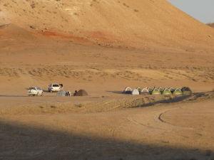 Tábor v púšti