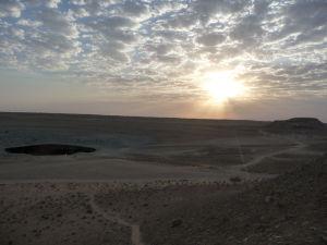 Východ Slnka nad Pekelnou bránou