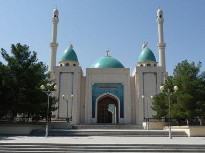 Menšia mešita v areáli