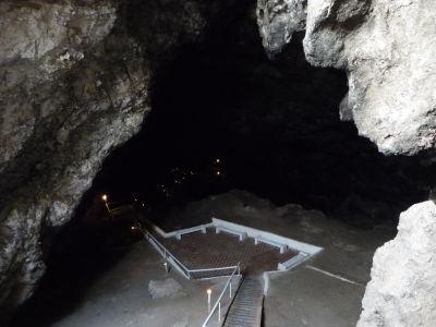 Vchod do jaskyňe Köw Ata