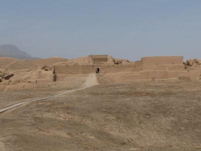 Zvyšky ruín mesta Nisa