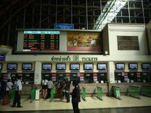 Stanica Hualamphong v Bangkoku