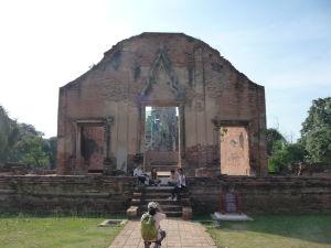 Ruiny chrámu Wat Racha Burana