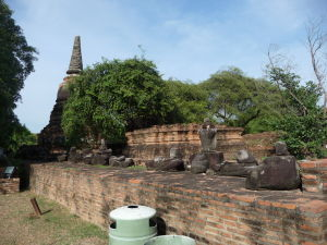 Stupa chrámu Wat Racha Burana