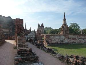 Stupy chrámu Wat Maha That