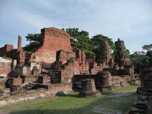 Ruiny chrámu Wat Maha That