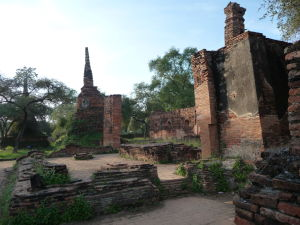 Ruiny starého kráľovského paláca