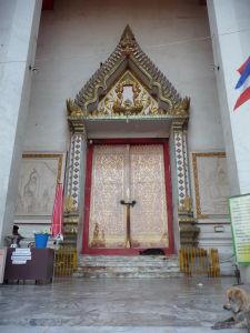 Vstup do chrámu
