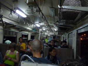 Cesta vlakom späť do Bangkoku