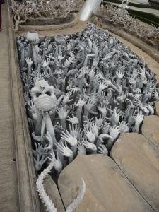 Biely chrám (Wat Rong Khun) - netuším, čo má byť toto