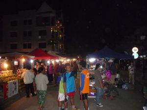 Luang Prabang - Večerný trh