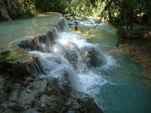 Vodopády Kuang Si