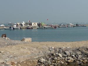 Promenáda Corniche - Prístav