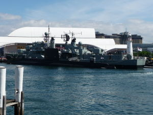 Vojenská technika - Prístav Darling Harbour